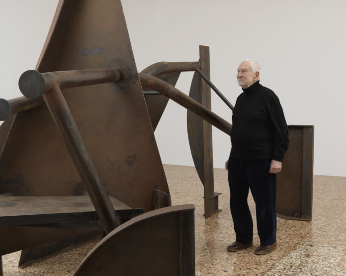 Sir Anthony Caro, Museo Correr, 2013. Photo Mike Bruce. Courtesy Gagosian Gallery