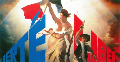 Erik Bulatov, Liberté II, 1991 - Private Collection, Paris