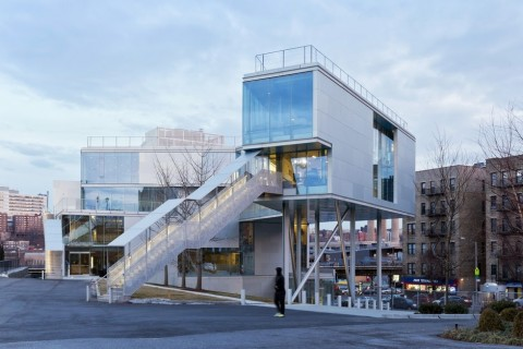 Steven Holl, Campbell Sports Center, New York