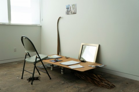 Davide Savorani, from the Can't Get-Away Club, temporary desk on March 27th 2013
