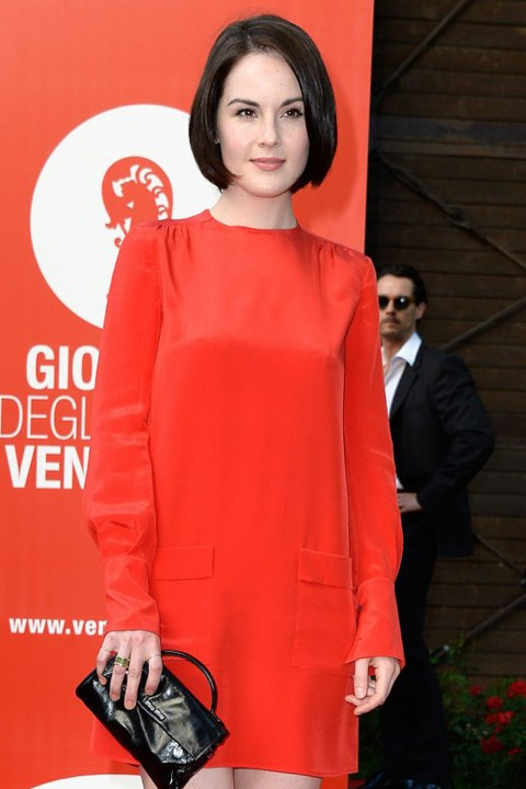 Michelle Dockery in Miu Miu
