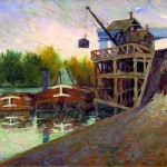 Paul Signac, Grue du charbon. Clichy, 1884, Glasgow, Kelvingrove Art Gallery and Museum © CSG CIC Glasgow Museums Collection