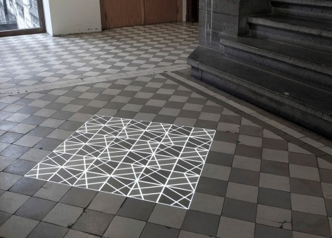 Pablo Valbuena, Time Tilings, 2013