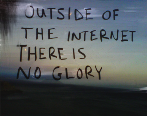 Miltos Manetas, Outside of Internet II, 2012