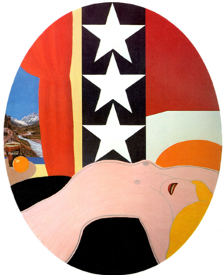 Tom Wesselmann, Great American Nude #40, 1962 - collezione Cari Sacks