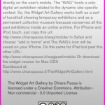 Widget Art Gallery