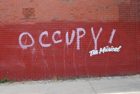 Banksy, Occupy! The Musical - prima
