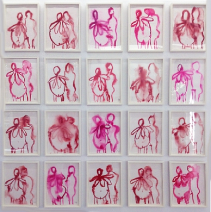 Louise Bourgeois, The Couple I, 2007, collezione privata, Parigi - Les Papesses, Collection Lambert, Avignone