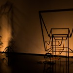 Raul Mourao, views of the installation Shadow Room, 2012, variable, dimentions
