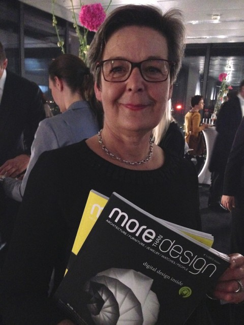 "Anna Del Medico, caporedattrice ""More than Design"""