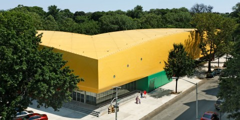 Rafael Vinoly, Children's Museum Building Crown Heights