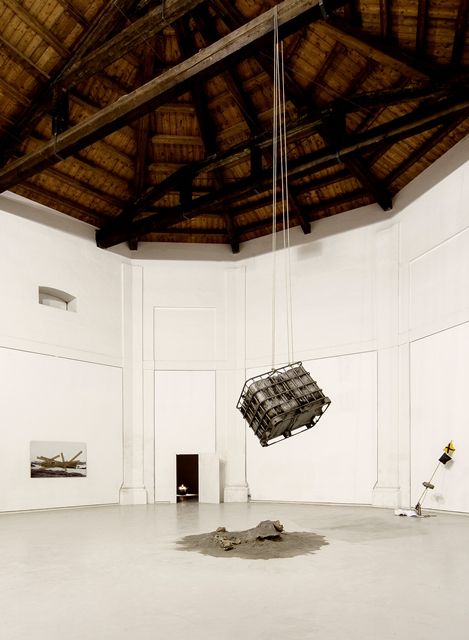 Andrea Nacciarriti, And the ship sails on... - installation view, 2013