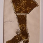 Andy Warhol - Elvis Presley (Gold Boot) - 1956 - Courtesy The Brant Foundation
