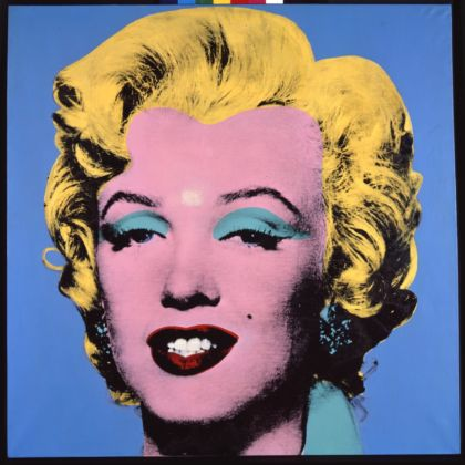 Andy Warhol, Shot Light Blue Marylin, 1964 - courtesy The Brant Foundation