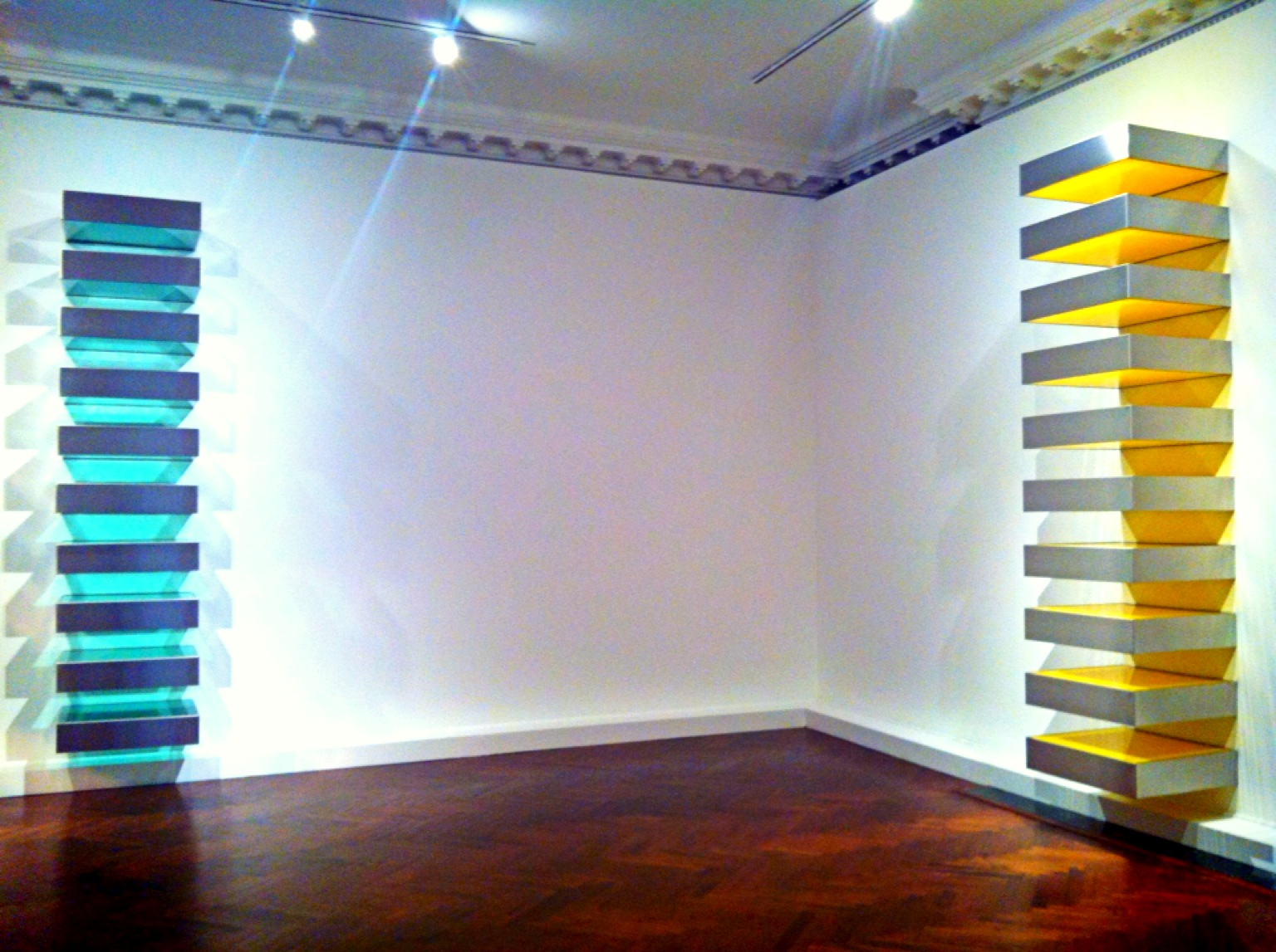 Donald judd mnuchin gallery artribune for Donald judd stack 1972