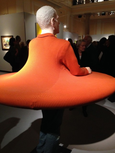 Erwin Wurm – The artist who swallowed the world when it was still a disc (2006)