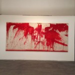 Hermann Nitsch e Christian Ludwig Attersee a Castel dell'Ovo, Napoli