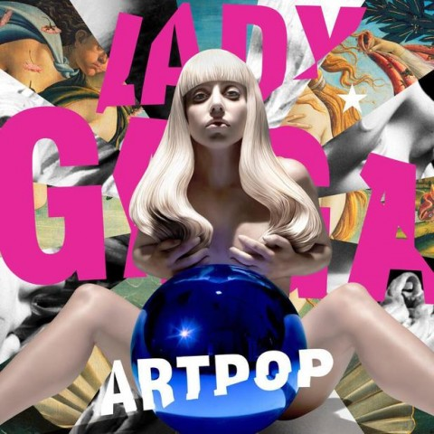 Lady Gaga, la cover di Artpop by Jeff Koons