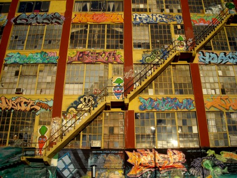 New York: i 5Pointz com'erano - foto Michela Deponti