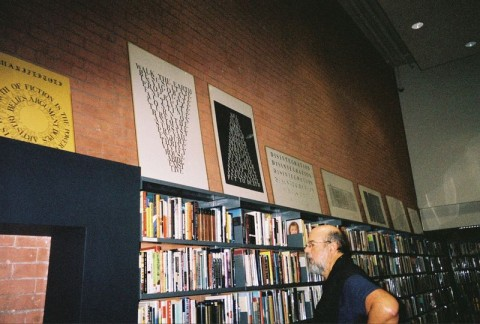 Wordprint Exhibition, SoHo Library, New York