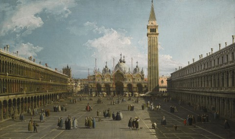 Canaletto - Piazza San Marco