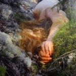 Flurina Badel, The forest doesn't want me, 2012, stampa foografica trattata con cera, cm 40x30 - photo Anto/Fotoland