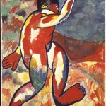 Kazimir Malevich, Bather, 1911