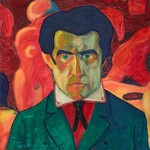 Kazimir Malevich, Self-Portrait, 1908-1910 - Collection The State Tretyakov Gallery