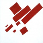 Kazimir Malevich, Suprematist Composition (with eight red rectangles), 1915 - Collection SMA