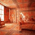 L'opera Cangaroo in the bedroom dell'artista Farid Rasulov