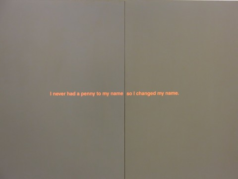 Richard Prince - Monochromatic Jokes - veduta della mostra presso Nahmad Contemporary, New York 2013