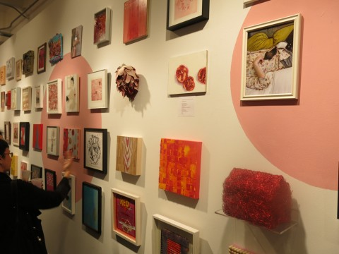 The Red:Pink Show @ Air Gallery