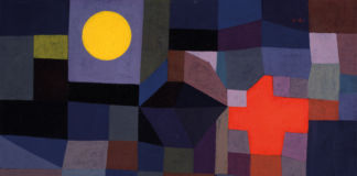 Paul Klee, Fire at Full Moon, 1933, Museum Folkwang, Essen