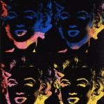 Andy Warhol, Four multicoloured Marilyns (Reversal Series), 1979/1986 – Privatsammlung ©Foto: Galerie Bruno Bischofberger, Schweiz ©The Andy Warhol Foundation for the Visual Arts, Inc. ©VBK, Wien, 2013