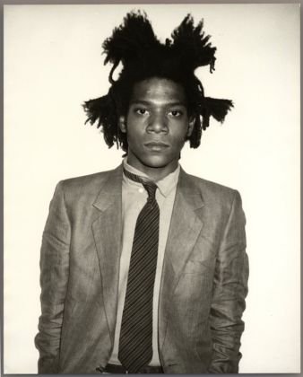 Andy Warhol, Jean-Michel Basquiat, 1982. Courtesy Galerie Bruno Bischofberger, Schweiz Photograph by Andy Warhol ©The Andy Warhol Foundation for the Visual Arts, Inc.