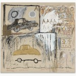 Jean-Michel Basquiat, Cadillac Moon, 1981 – Sammlung Bischofberger, Schweiz ©Foto: Galerie Bruno Bischofberger, Schweiz ©The Estate of Jean-Michel Basquiat ©VBK, Wien, 2013