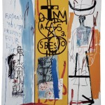 Jean-Michel Basquiat, Four Big, 1982 – Privatsammlung ©Foto: Galerie Bruno Bischofberger, Schweiz ©The Estate of Jean-Michel Basquiat ©VBK, Wien, 2013
