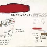 Jean-Michel Basquiat, Bull Show Four, 1983 – Sammlung Bischofberger, Schweiz ©Foto: Galerie Bruno Bischofberger, Schweiz ©The Estate of Jean-Michel Basquiat ©VBK, Wien, 2013
