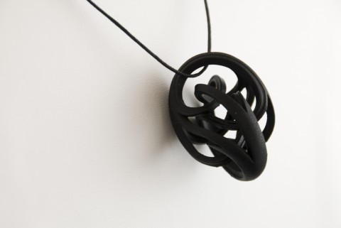 Necklace Black by Bathsheba Grossman