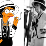 Coco Chanel Simpson Humor Chic by aleXsandro Palombo