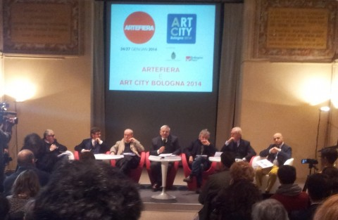 La conferenza di Arte Fiera e Art City a Bologna