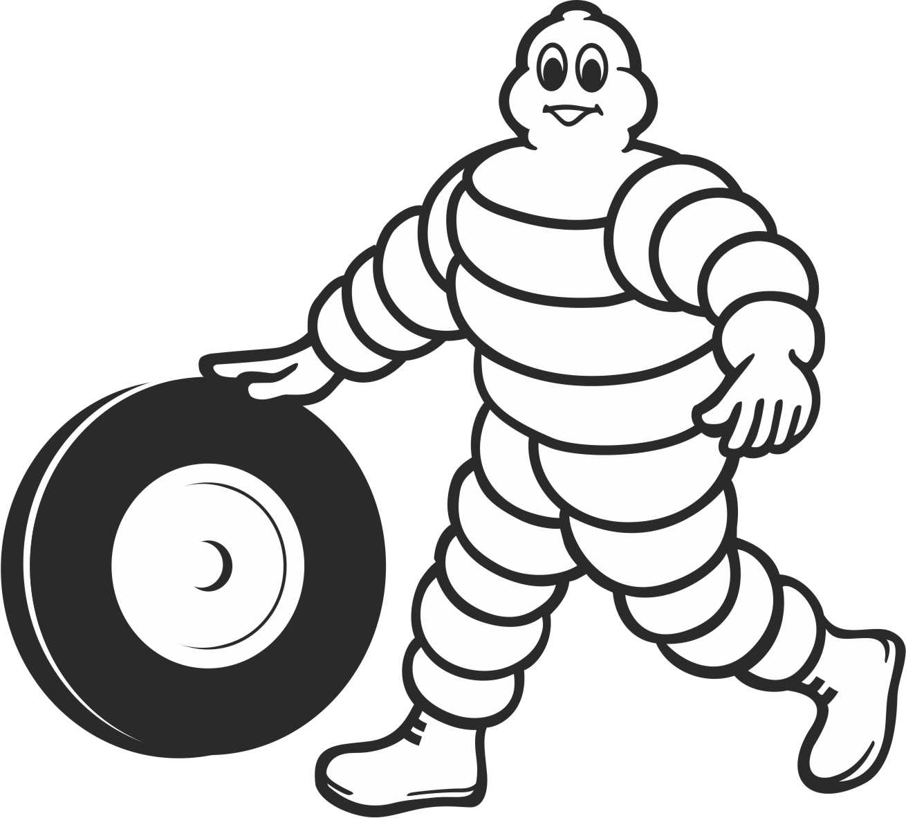 Drawing Of Tyre Colouring Pages