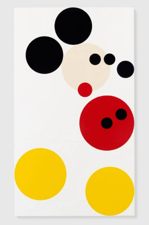 Mickey Mouse secondo Damien Hirst (foto Prudence Cuming Associates. Copyright Damien Hirst and Science Ltd. All rights reserved, DACS 2013)