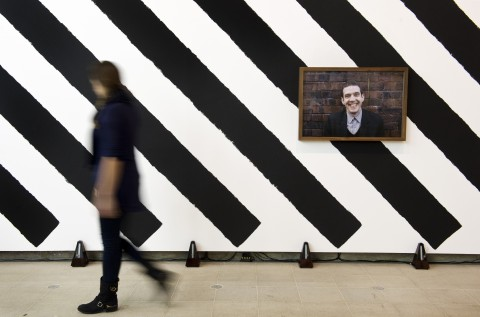 Martin Creed - What's the point of it? - veduta della mostra presso la Hayward Gallery, Londra 2014 - photo Linda Nylind