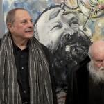 Christian Ludwig Attersee e Hermann Nitsch - photo Biagio Ippolito