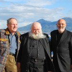 Christian Ludwig Attersee, Hermann Nitsch e Peppe Morra