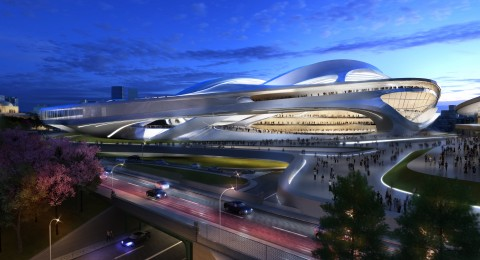 Zaha Hadid, New National Stadium of Japan, Tokyo
