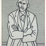 Roy Lichtenstein, Man with Folded Arms, 1962 - Olio su tela, 178,44 x 122,56 cm - Los Angeles, The Museum of Contemporary Art, The Panza Collection - © Estate of Roy Lichtenstein, photo Brian Forrest