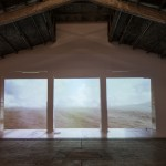 Garage - Desert – Soundscape, 2013 - video installation, full HD, projectors, audio system -1' loop Courtesy the artist and Galleria Continua – foto Eric Gregory Powell