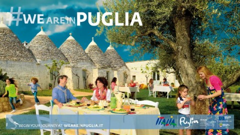 We are in Puglia